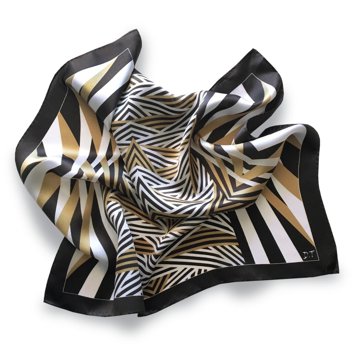 45x45cm Pocket Scarf / Bandana 100% Silk