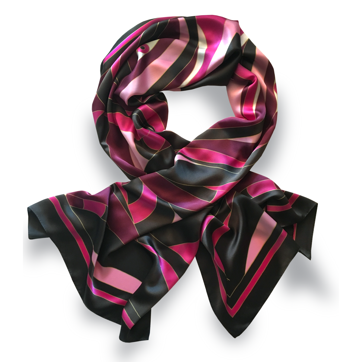 70x180cm Rectangular Shawl 100% Silk